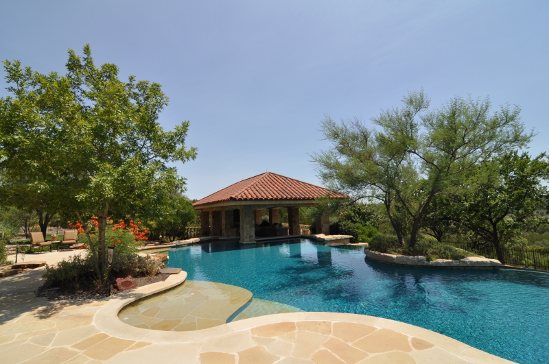 Trees and swimming pools - Central Texas Tree Care